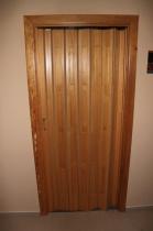 Lamelové dveře dřevěné